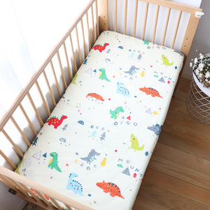 Dinosaur Baby Crib Sheets
