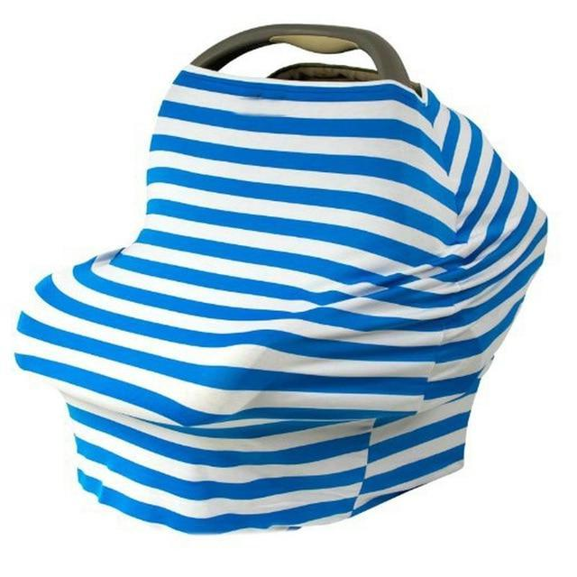 Stripe-Style Baby Car Seat Cover