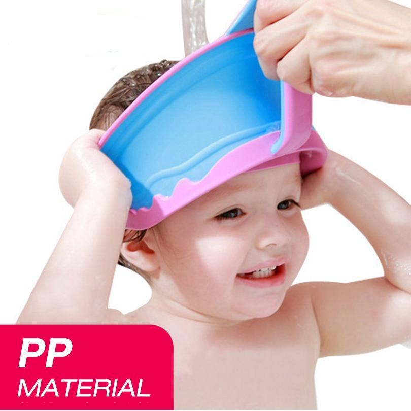 New Adjustable Kids Bath Visor Hat