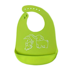 Adjustabl Cartoon Prints Baby Bib MaBabyPro