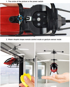 Hand Induction Helicopter