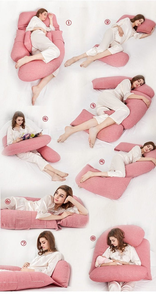 MaBabyPro Full Body Support Pregnancy Pillow