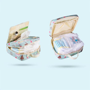 Fashion Wet / Dry  Diaper Bag