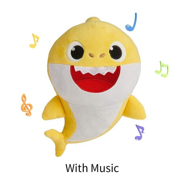 Baby Cartoon Shark Doll