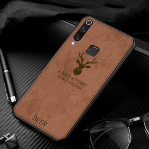 Vivo Y17 Deer Pattern Inspirational Soft Case