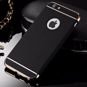 iPhone 6 Luxury 3 in 1 Electroplating Back Case