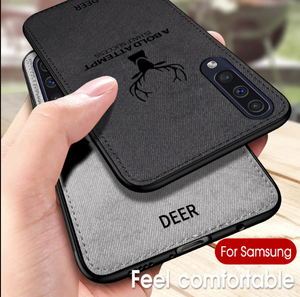 Galaxy A70s Deer Pattern Inspirational Soft Case
