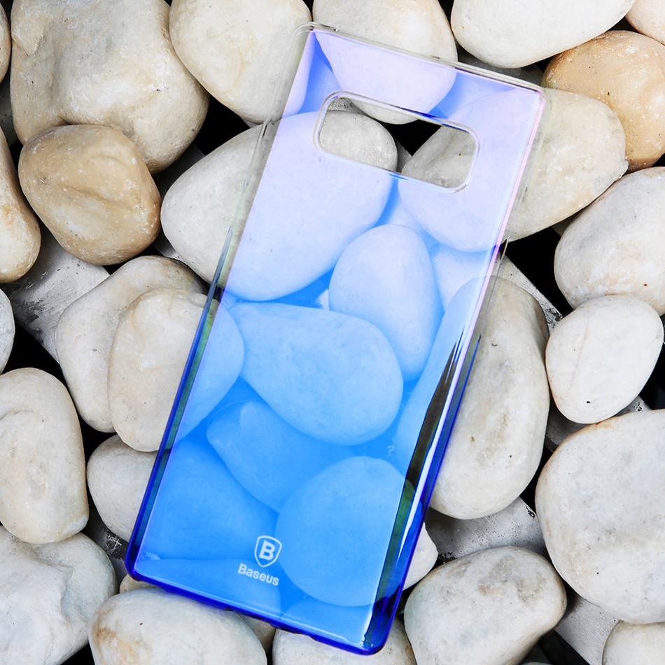 Galaxy Note 8 Aura Gradient Transparent Hard Case