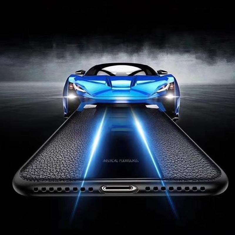 Galaxy A50 Auto Focus Plexiglass Porsche Design Case