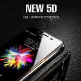 Galaxy C7 Pro Full Coverage 5D Tempered Glass