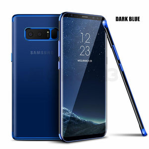 Galaxy Note 8 Glitter Series Transparent Ultra-thin Back Case