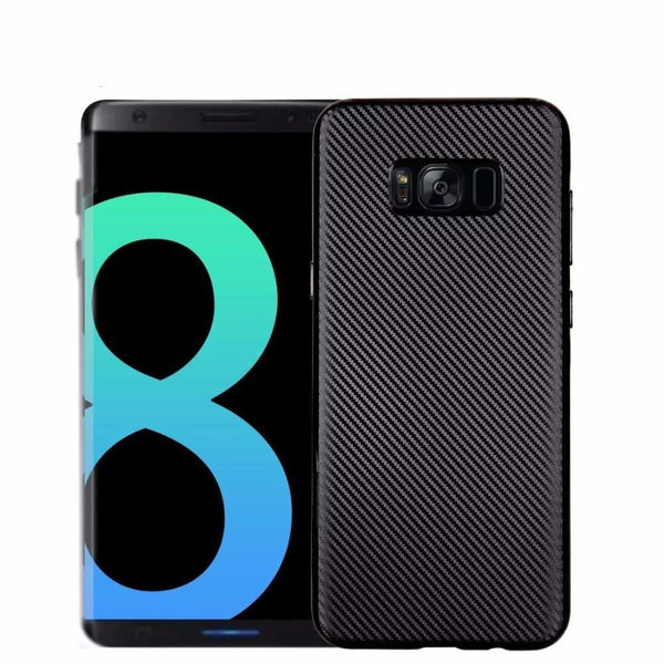 Galaxy S8/S8 Plus Carbon Fiber Ultra-thin Hard Shell Case