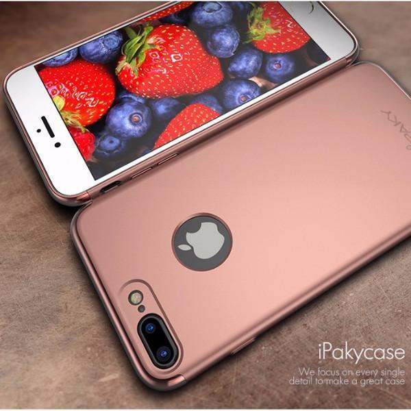 iPhone 7/7 Plus Luxury Electroplating 3 in 1 Case
