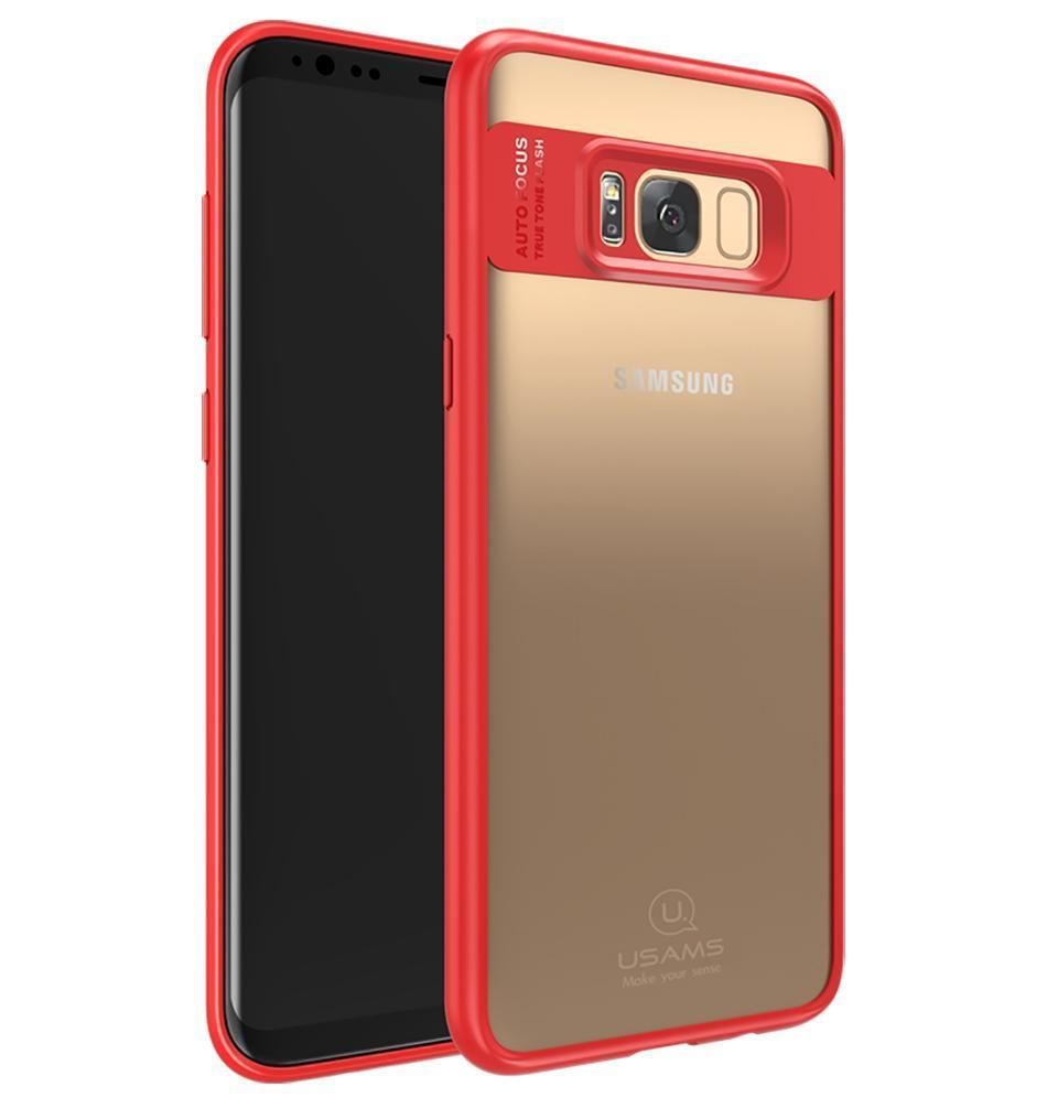 Galaxy S8 Plus Transparent Slim Shockproof Case