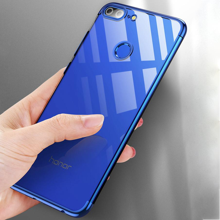 Honor 9 Lite Glitter Series Transparent Ultra-thin Case