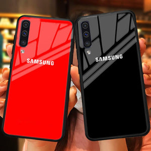 Galaxy A50s Special Edition Logo Soft Edge Case