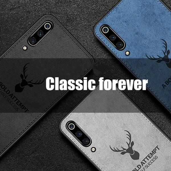 Galaxy A50 Deer Pattern Inspirational Soft Case (3-in-1 Combo)