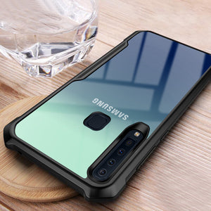 Galaxy A9 2018 Shockproof Transparent Back Eagle Case