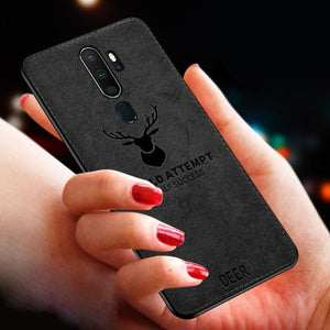 Oppo A9 (2020) Deer Pattern Inspirational Soft Case