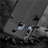 Galaxy M30 Auto Focus Leather Texture Case