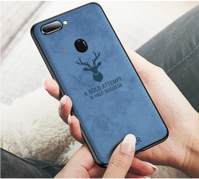 OnePlus 5T Deer Pattern Inspirational Soft Case