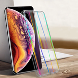 iPhone XR Rainbow Effect Hybrid Transparent Case