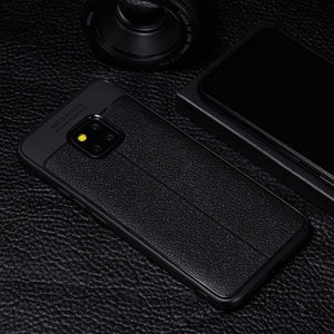 Huawei Mate 20 Pro Auto Focus Leather Texture Case