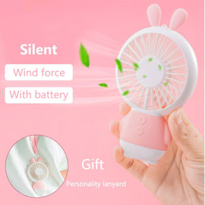 Mini Hand Sized Portable Cooling Fan