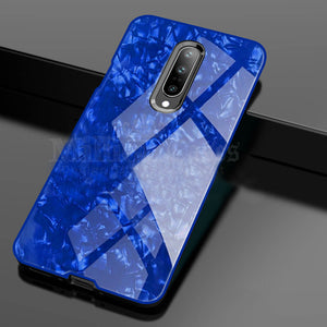 OnePlus 7 Pro Dream Shell Series Textured Marble Case