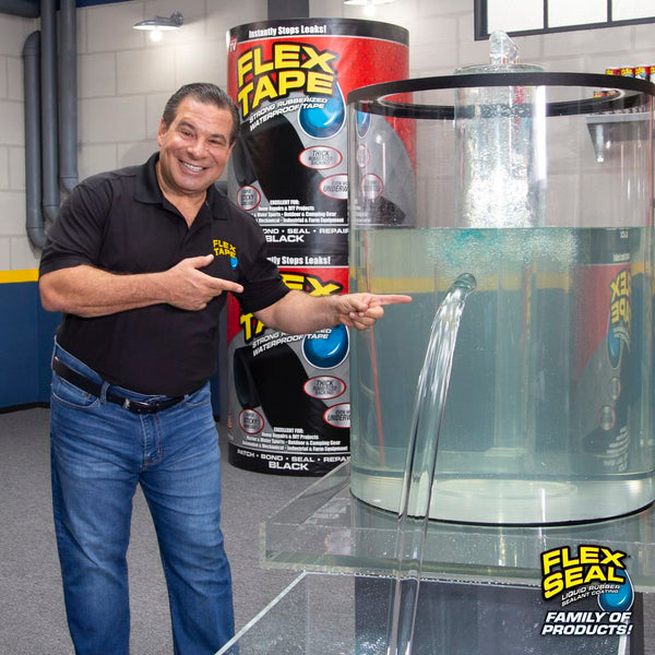 FLEX TAPE - Instantly Patch, Bond, Seal and Repair Virtually Everything !!