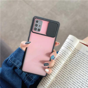 Galaxy M51 Camera Lens Slide Protection Matte Case