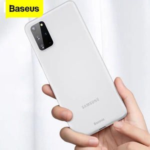 Baseus ® Galaxy S20 Plus Ultra-Thin Matte Paper Back Case