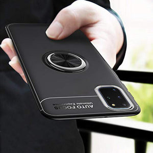 Galaxy S20 Plus Metallic Autofocus Ring Case
