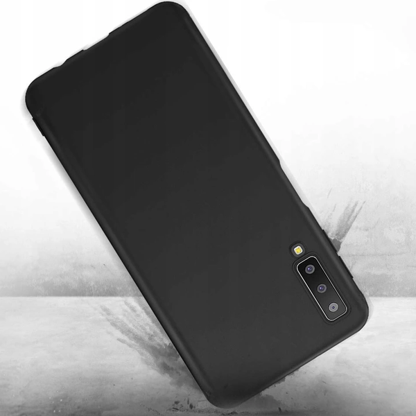 Galaxy A7 2018 Ultra-Thin Matte Paper Back Case