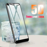 Galaxy J6 5D Tempered Glass Screen Protector