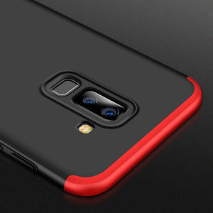 Galaxy J8 360 Degree Protection Case  [100% Original GKK]