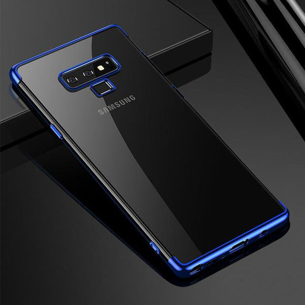 Galaxy Note 9 Glitter Series Transparent Ultra Thin Case