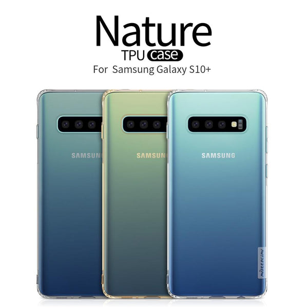 Nillkin ® Galaxy S10 Plus Transparent Nature TPU Case
