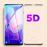 Galaxy S10 5D Tempered Glass Screen Protector [With In-Display Fingerprint Sensor]