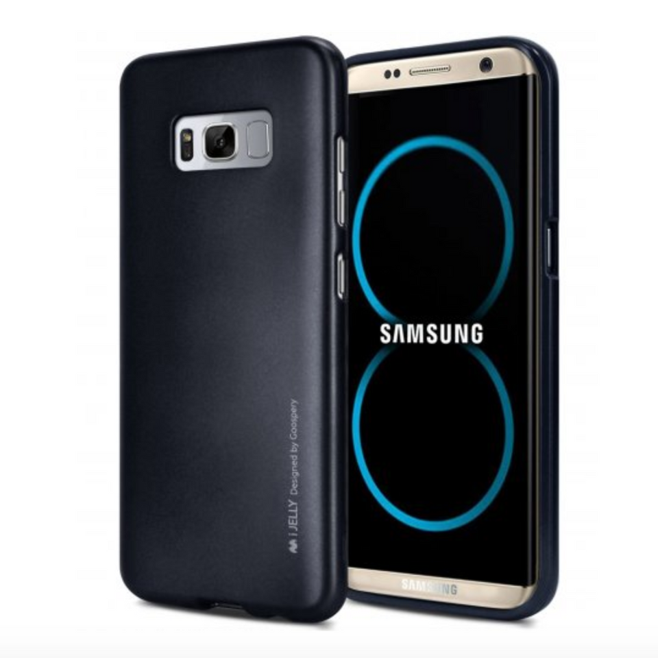 Galaxy S8/S8 Plus Soft Silicone Hybrid Shockproof Case