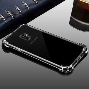 Galaxy S9 Plus Clear View Ultra-Protection Silicone Case
