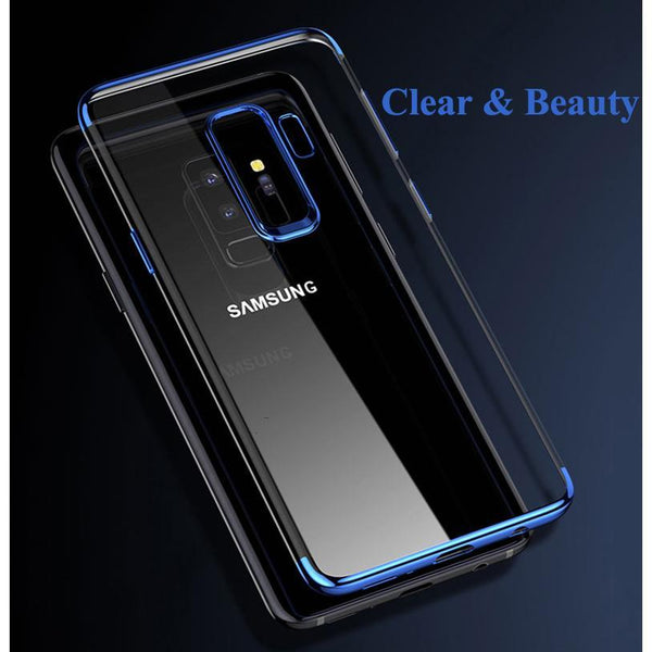 Galaxy S9 Glitter Series Transparent Ultra-thin Case