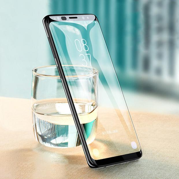 Galaxy A6 Plus 5D Tempered Glass Screen Protector