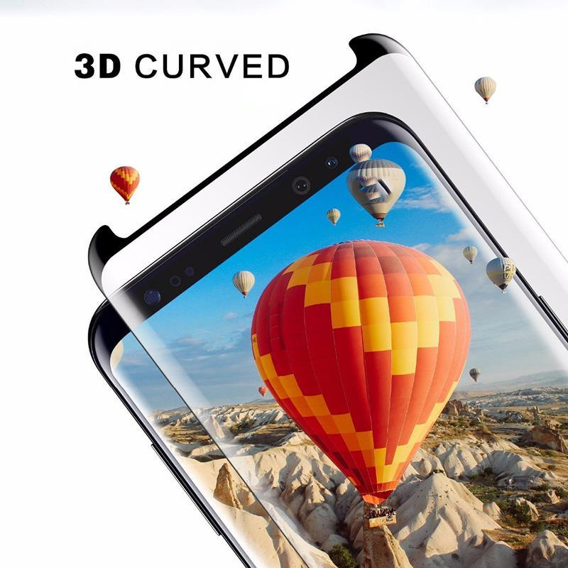 Galaxy S9 Plus 3D Cut Tempered Glass Screen Protector