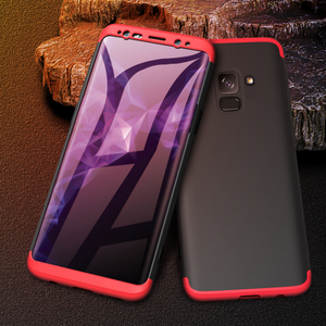 360 Degree Protection Case for Galaxy A8 Plus [100% Original GKK]