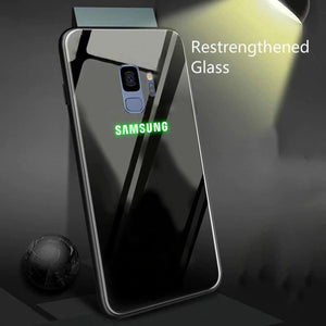 Galaxy S9 Radium Glow Light Illuminated Logo 3D Case
