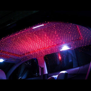 Mini LED Car Roof Star Night Lights