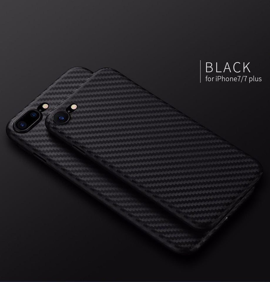 iPhone 8/8 Plus Carbon Fibre Ultra-thin Case