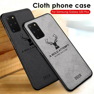 Galaxy S10 Lite Deer Pattern Inspirational Soft Case