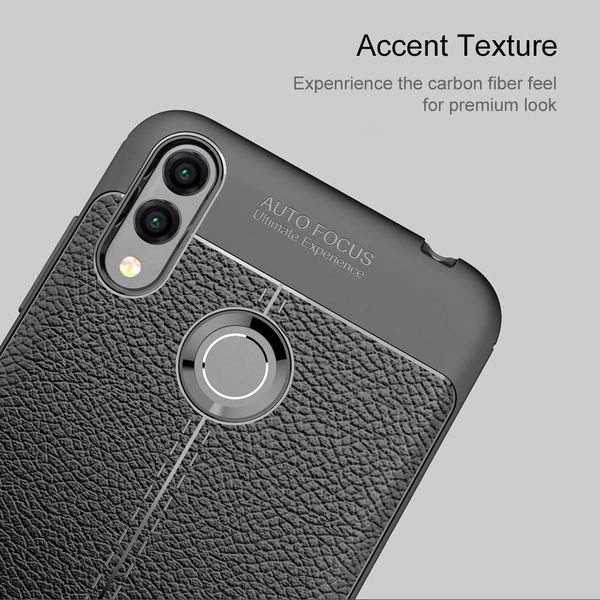 Redmi Note 7 Auto Focus Leather Texture Case